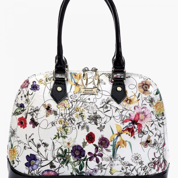 Serenade Botanics Leather handbag