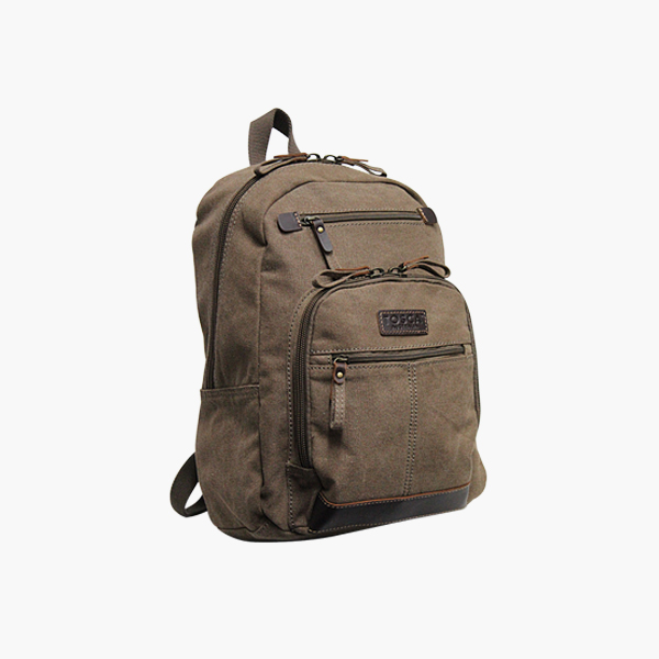 TOSCA Medium Canvas Backpack